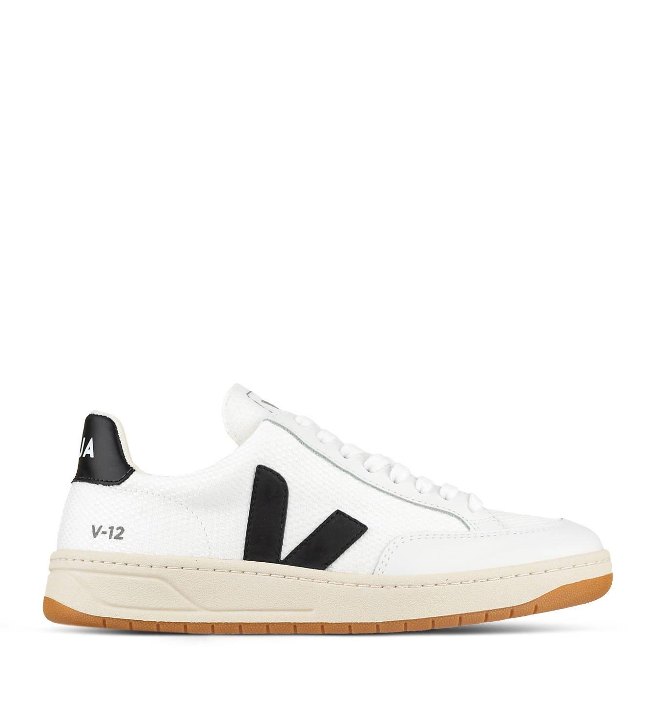 Buty Veja V 12 B Mesh White Black Sneakersy Damskie Panpablo Pl