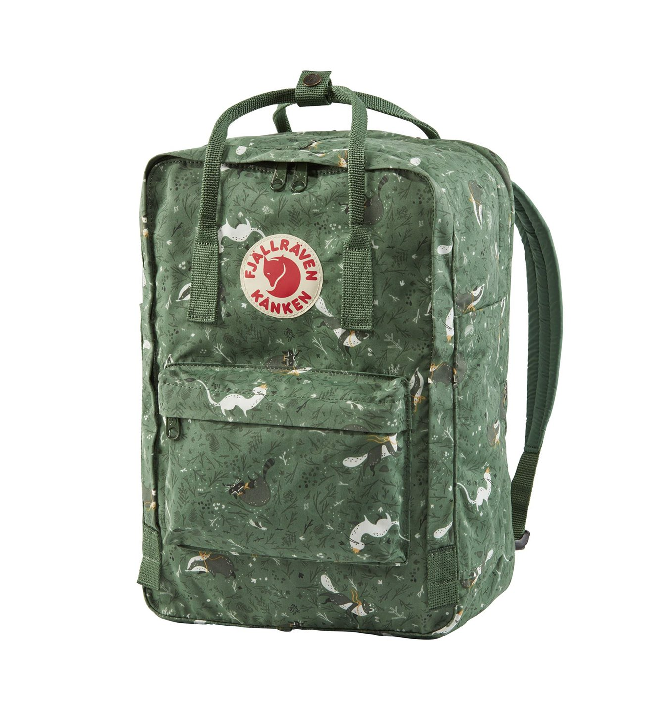 e617cea103c02 Fjallraven Kanken Art Laptop 15 Green Fable | MARKI \ FJALLRAVEN ...