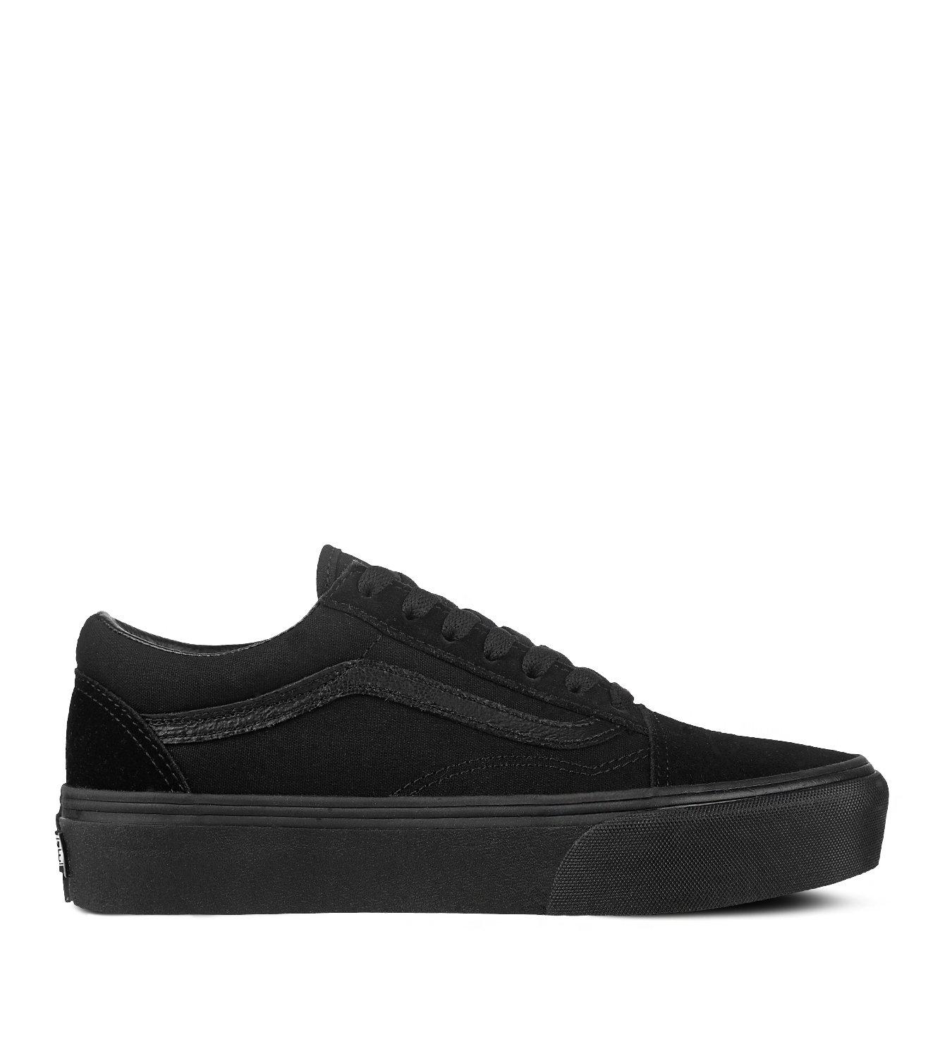 Vans Old Skool Platform Black Black