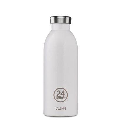 24 Bottles Clima Bottle Arctic White 0.5