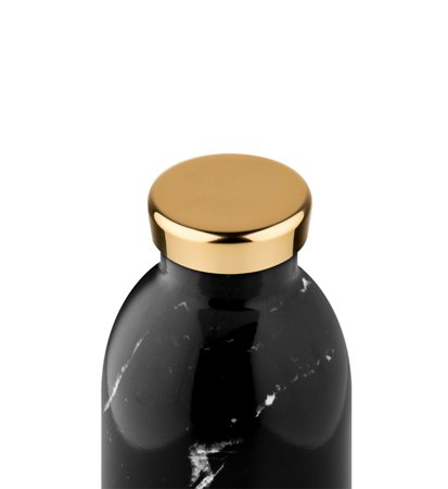 24 Bottles Clima Bottle Black Marble 0.85
