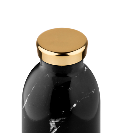 24 Bottles Clima Bottle Marble Black 0.5