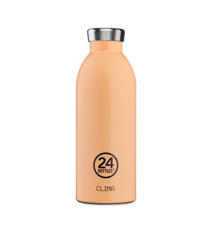 24 Bottles Clima Bottle Peach Orange 0.5