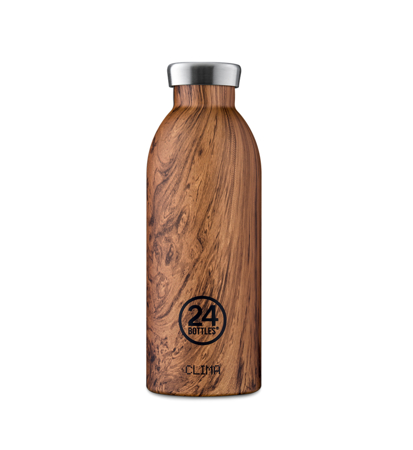 24 Bottles Clima Bottle Wood Sequoia 0.5