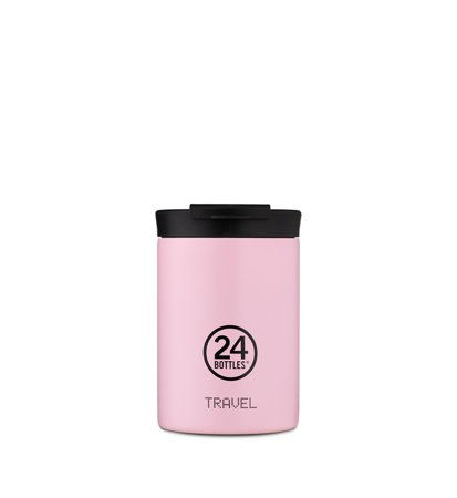 24 Bottles Travel Tumbler Candy Pink 0.35