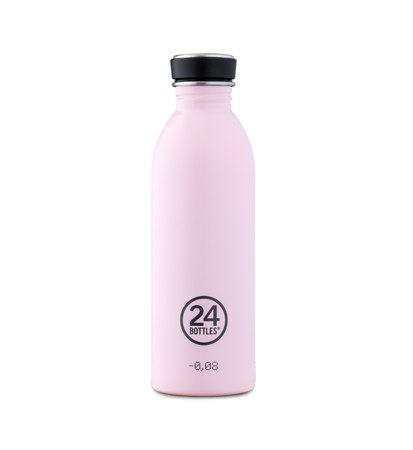 24 Bottles Urban Bottle Candy Pink 0.5