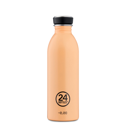24 Bottles Urban Bottle Peach Orange 0.5