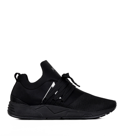 Arkk Copenhagen Raven Mesh S-E15 All Black White Damskie