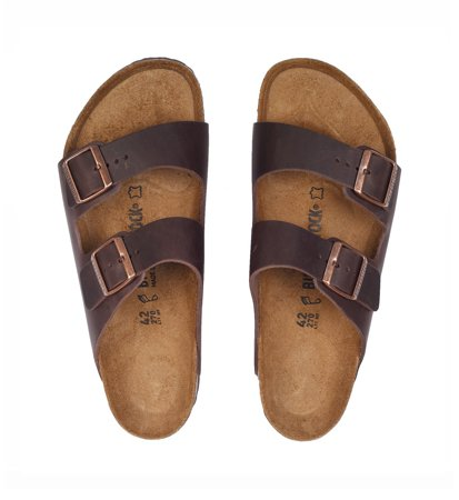 Birkenstock Arizona Nubuck Oiled Habana Regular Męskie