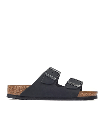 Birkenstock Arizona Oiled Black Regular Męskie