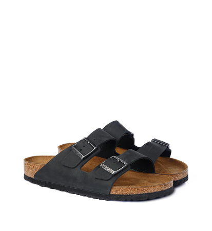 Birkenstock Arizona Oiled Regular Fit Black