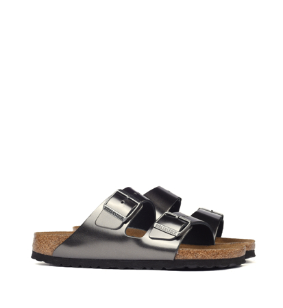 Birkenstock Arizona SFB Metallic Anthracite Narrow