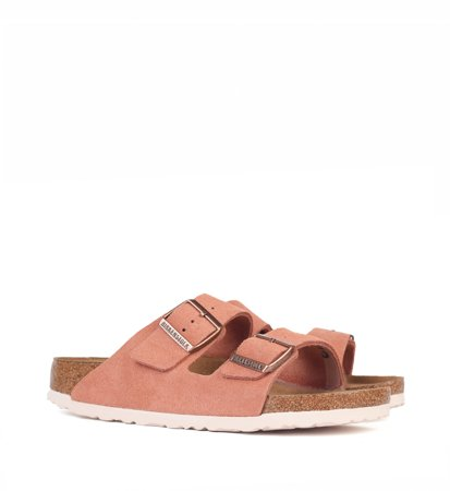Birkenstock Arizona SFB Welur Earth Red Narrow