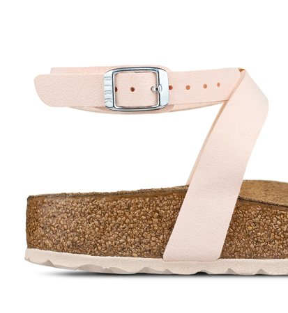 Birkenstock Blanca Birkoflor Brushed Light Rose Narrow