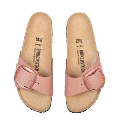 Birkenstock Madrid Big Buckle Nubuck Old Rose