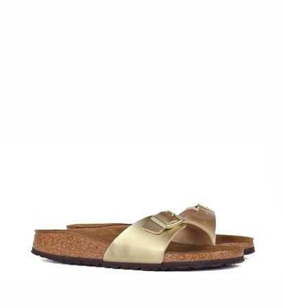 Birkenstock Madrid Birkoflor Gold Narrow