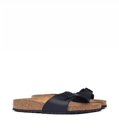Birkenstock Madrid Black Narrow