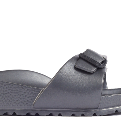 Birkenstock Madrid EVA Metallic Anthracite Narrow