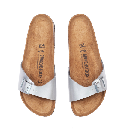 Birkenstock Madrid Silver Narrow