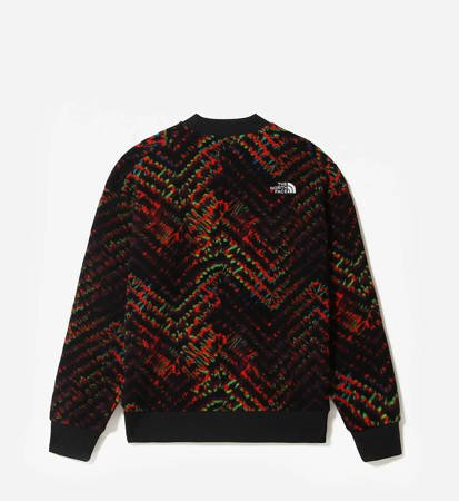 Bluza The North Face Fleeski Crew Fleece Flare Shibori