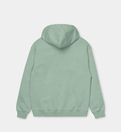 Bluza z kapturem Carhartt WIP W Hooded Sweat Frosted Green/Black