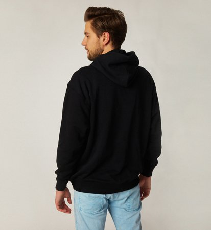 Brixton Broke Hooded Fleece Black