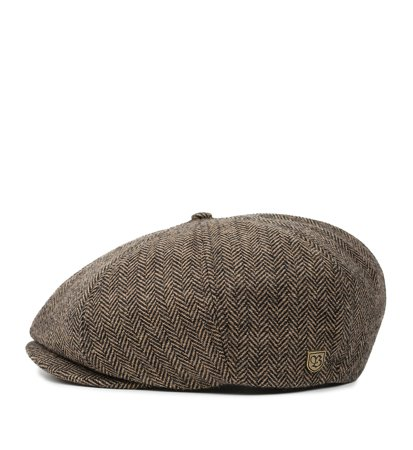 Brixton Brood Snap Cap Brown Khaki