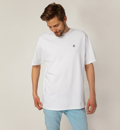 Brixton Stowell S/S Standard Tee White