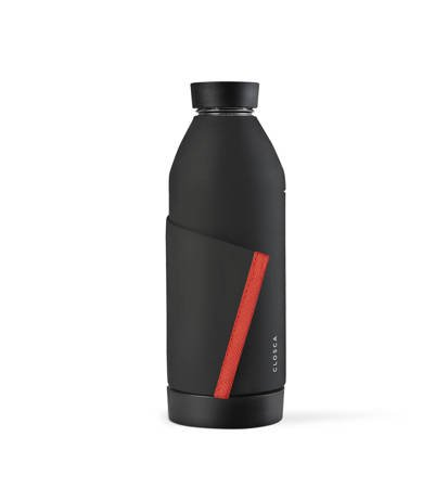 Butelka Closca Bottle Black/Coral 420ml