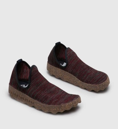 Buty Damskie Asportuguesas City Women Red Brown