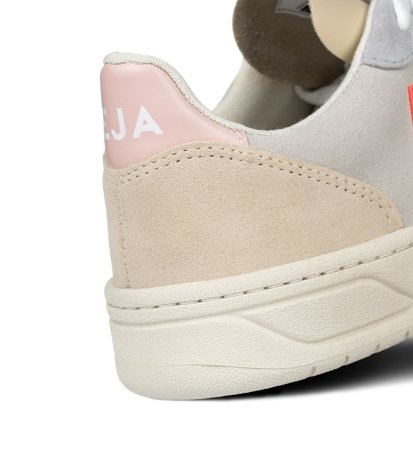 Buty Damskie Veja V-10 Multicolor Natural Rose Fluo