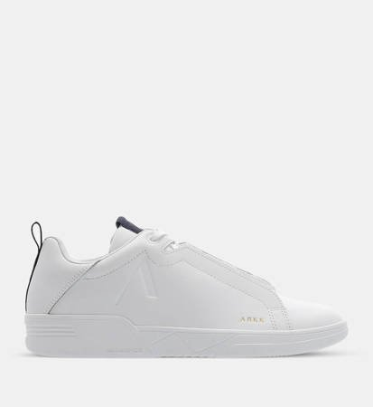 Buty Męskie Arkk Copenhagen Uniklass Suede S-C18 Leather S-C18 White/Midnight