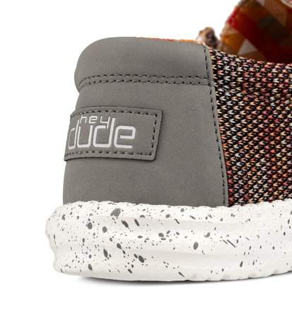 Buty Męskie Hey Dude Wally Sox Canyon Red