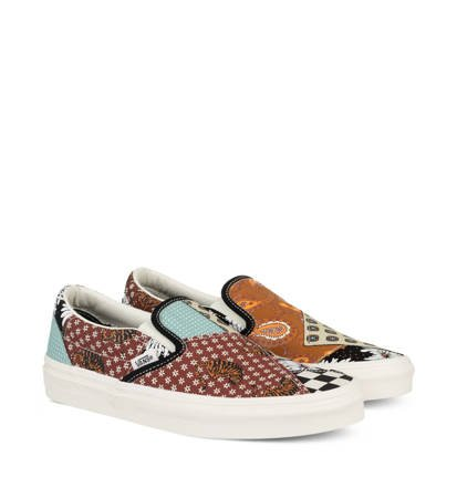 Buty Vans Classic Slip-On Tiger Patchwork