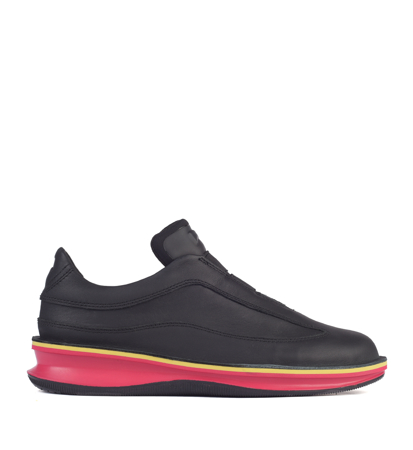 Camper Rolling Black Pink Yellow