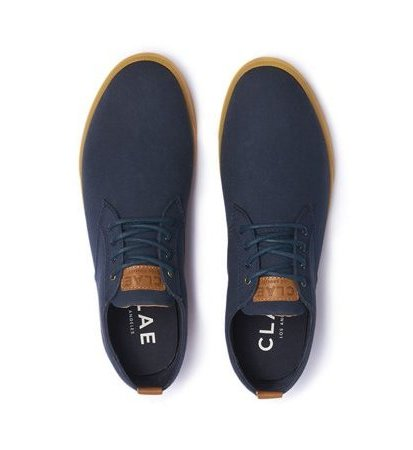 Clae Ellington Textile Deep Navy Canvas