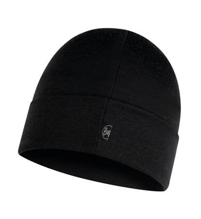Czapka zimowa Buff Heavyweight Merino Wool Hat Solid Black