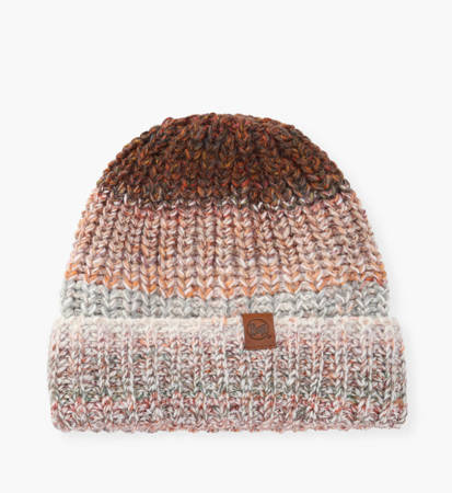Czapka zimowa Buff Knitted & Fleece Hat Olya Grey