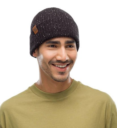 Czapka zimowa Buff Knitted Hat Kort Black