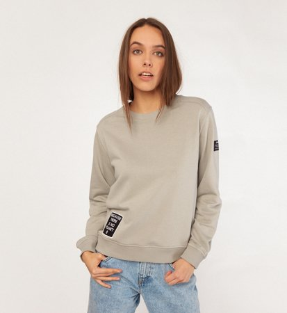 Ecoalf Belen Pach Sweater Woman Grey
