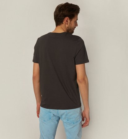 Ecoalf Natal Classic Because T-Shirt Charcoal