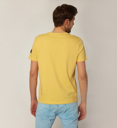 Ecoalf Natal Classic Because T-Shirt Yellow