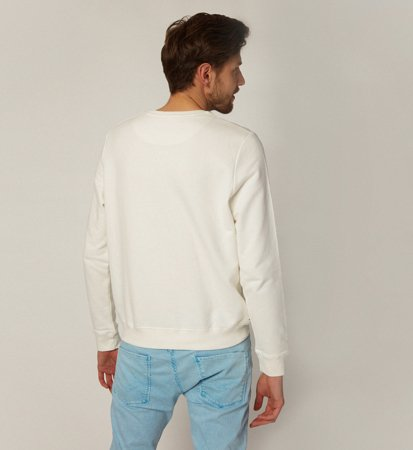 Ecoalf San Diego Because Swearshirt Unisex Off White