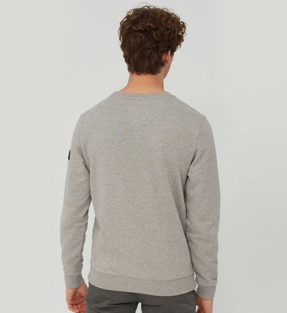 Ecoalf San Diego Because Sweatshirt Grey Melange