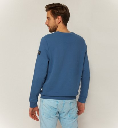 Ecoalf San Diego Because Sweatshirt Ocean Blue