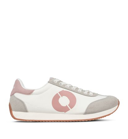 Ecoalf Seventies Sneakers Woman White Pink