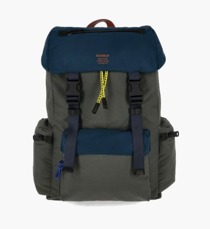 Ecoalf Wild Sherpa Backpack Dark Khaki