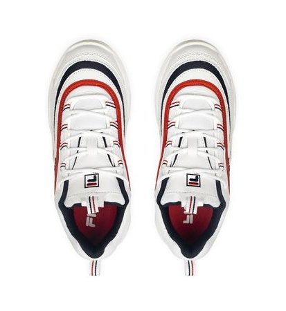 Fila Ray Low White Navy Red Damskie