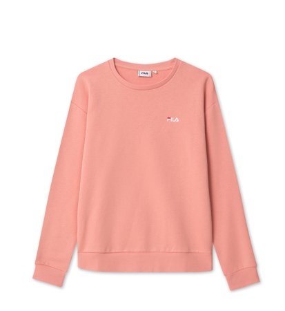 Fila Women Effie Crew Sweat Lobster Bisque