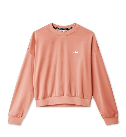 Fila Women Tallis Sweat Shirt Lobster Bisque